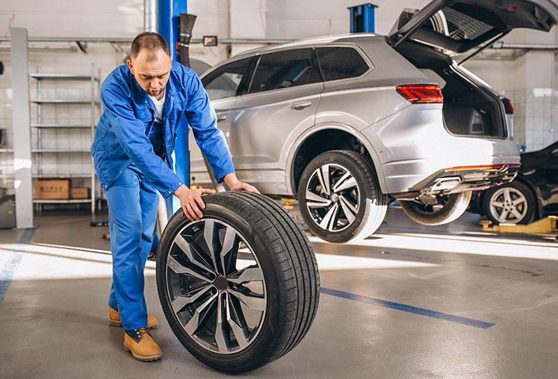 Reifenwechsel-Reifenservice
